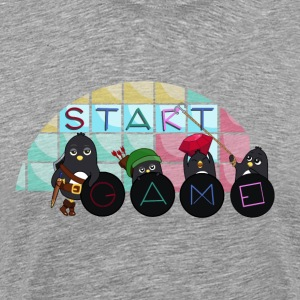 Pingouins gamers Tee shirts - T-shirt Premium Homme