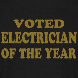 Voted electrician of the year T-Shirts - Männer T-Shirt