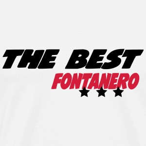 The best fontanero T-shirts - Herre premium T-shirt