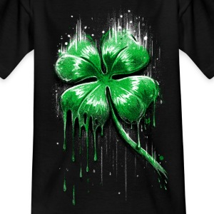 Four Leaf Clover Shirts - Kids' T-Shirt
