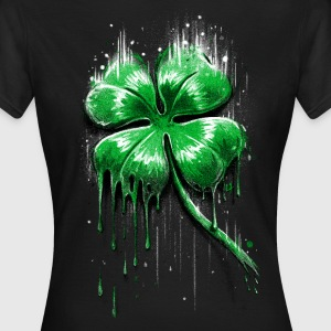 Four Leaf Clover T-Shirts - Frauen T-Shirt