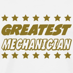 Greatest mechanician Camisetas - Camiseta premium hombre