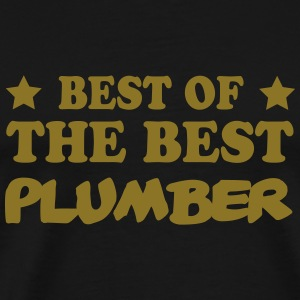Best of the best plumber T-shirts - Herre premium T-shirt