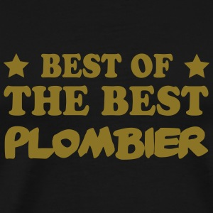 Best of the best plombier Koszulki - Koszulka męska Premium