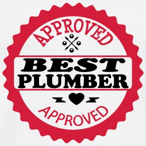 Approved best plumber T-Shirts - Men's Premium T-Shirt