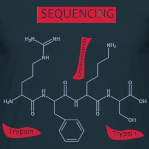 Sequencing T-shirts - Herre-T-shirt