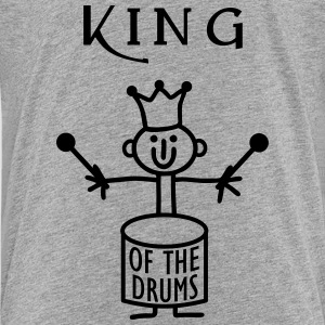King of the Drums Shirts - Teenage Premium T-Shirt