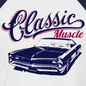 classic car - Men's Baseball T-Shirt
