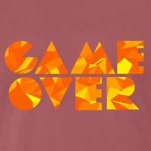 Game Over (Low Poly) T-Shirts - Men's Premium T-Shirt