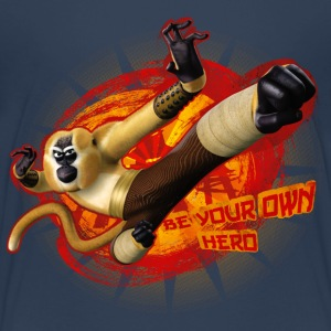 Kung Fu Panda Monkey Be Your Own Hero Kids T-Shirt - Kids' Premium T-Shirt