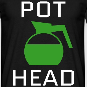 Pot Head T-Shirts - Männer T-Shirt