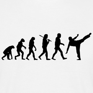 Evolution of Karate T-Shirts - Männer T-Shirt
