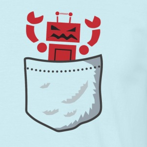 Pocket Robot - Men's T-Shirt