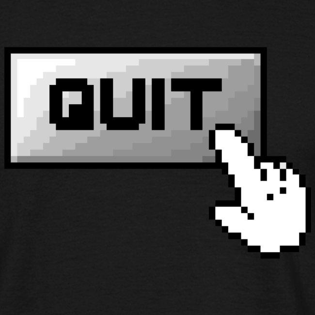 Klassik Computerbutton QUIT