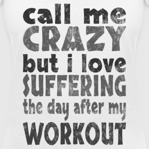 day after workout dark T-Shirts - Women's V-Neck T-Shirt