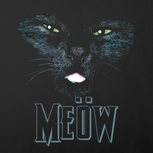 Black Cat shirt meow Heavy Metal black shirt Other - Sofa pillow cover 44 x 44 cm