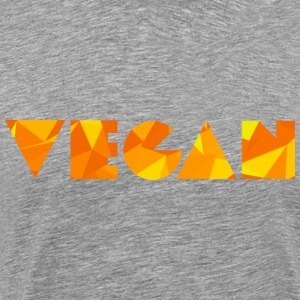 Vegan (Low Poly Style) T-Shirts - Men's Premium T-Shirt