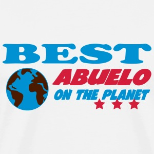 Best abuelo on the planet Tee shirts - T-shirt Premium Homme