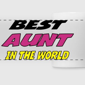 Best aunt in the world Mugs & Drinkware - Panoramic Mug