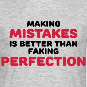 Making mistakes Camisetas - Camiseta hombre