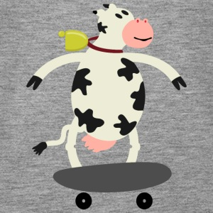 Milch Express / cow on skateboard (ddp) Tops - Women's Premium Tank Top