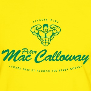 Peter Mac Calloway Fitness Musculation Tee shirts - T-shirt contraste Homme