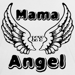 Mama Angel T-Shirts - Women's Ringer T-Shirt
