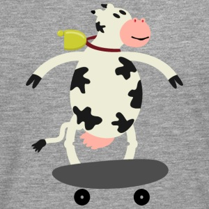 Milch Express / cow on skateboard (ddp) Long sleeve shirts - Men's Premium Longsleeve Shirt