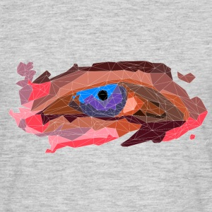 Eye Poly-Design - Männer T-Shirt
