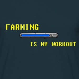 Famring is my work out T-Shirts - Men's T-Shirt