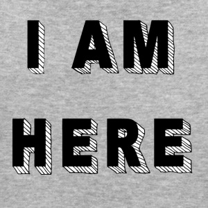 I am here - Frauen Bio-T-Shirt
