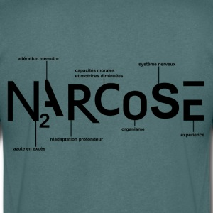 NARCOSE - T-shirt Homme col V