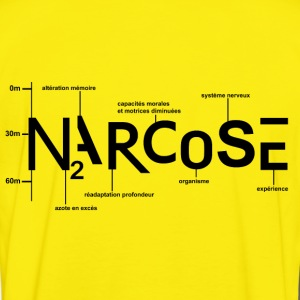 NARCOSE - T-shirt contraste Homme