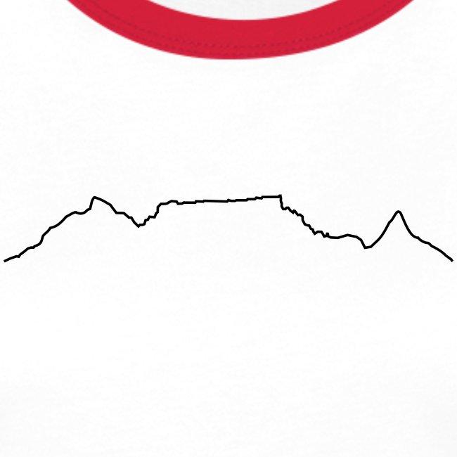 Table Mountain b&w