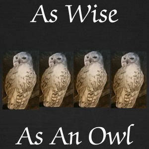 As Wise As An Owl womens T-shirt - Women's T-Shirt