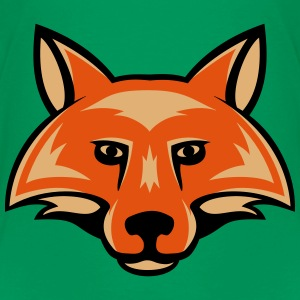 fox_head_simple_3c Shirts - Kids' Premium T-Shirt