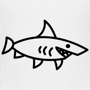 requin Shark poisson enfant Mer bébé animal Tee shirts - T-shirt Premium Enfant