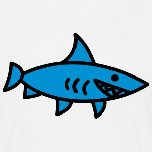 requin Shark poisson enfant Mer bébé animal Tee shirts - T-shirt Homme