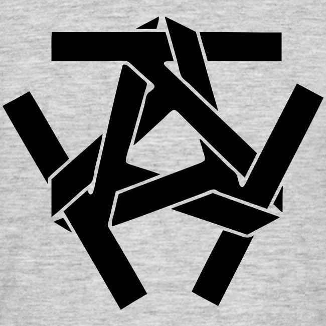 Schwarzes Clan Logo vorne - Vers. Farben
