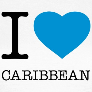 I LOVE CARIBBEAN - Frauen T-Shirt