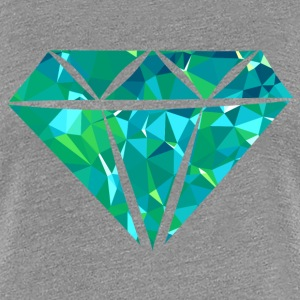 Diamond (Low Poly) Camisetas - Camiseta premium mujer