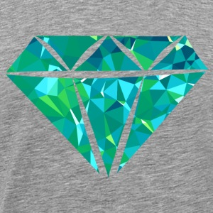 Diamond (Low Poly) Tee shirts - T-shirt Premium Homme