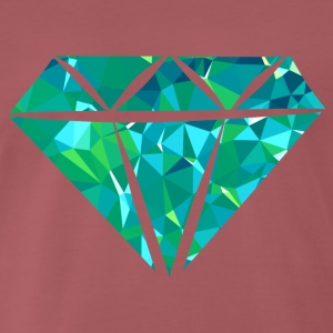 Diamond (Low Poly) T-shirts - Premium-T-shirt herr