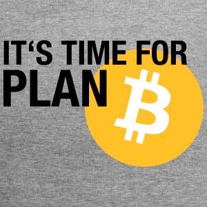 IT'S TIME FOR PLAN B (BITCOIN) Caps & Mützen - Jersey-Beanie