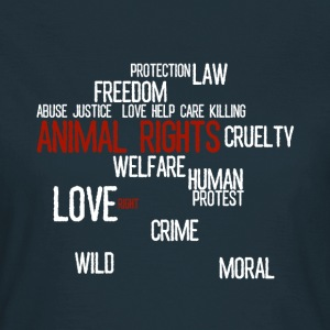 Animal Rights - Woman top - Women's T-Shirt