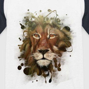 Lion - Kinder Baseball T-Shirt