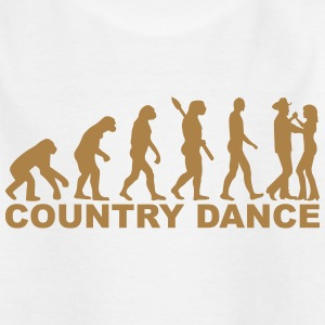 Country dance T-Shirts - Kinder T-Shirt