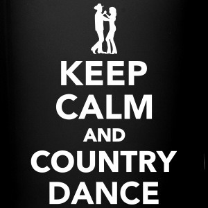Keep calm and country dance Tassen & Zubehör - Tasse einfarbig