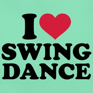 I love Swing dance T-Shirts - Frauen T-Shirt