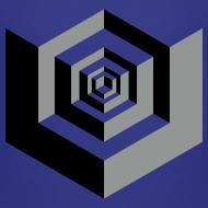 Design ~ CUBES optical illusion